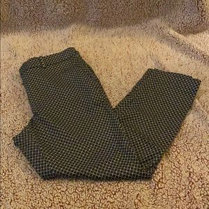 H&M Patterned Business Pants